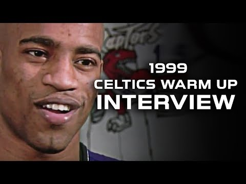 Rare Rookie Vince Carter Interview on