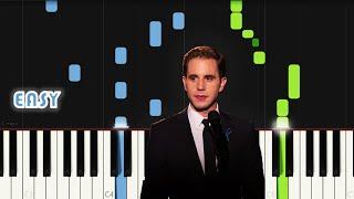 Ben Platt - River   EASY PIANO TUTORIAL by Synthly
