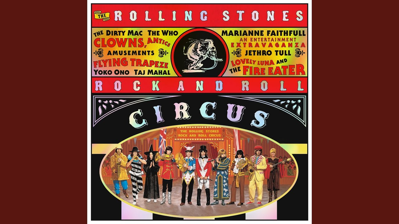 ABKCO Restores And Expands 'Rolling Stones Rock And Roll Circus'