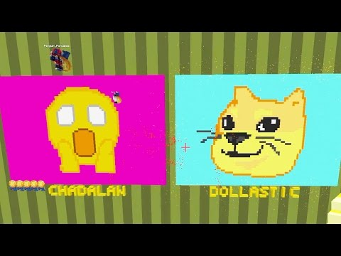 Minecraft / Pixel Painters / Emoji / Gamer Chad Plays