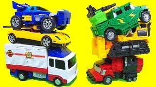 헬로카봇 아이언트 컨버스터 마하피스 브레이로드 변신로봇 장난감 Hello Carbot Toys