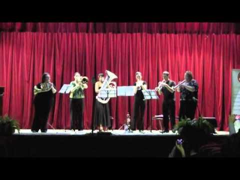 Les Femmes Five Auditorio Universidad de Panama Festival ASM 2011
