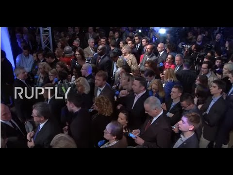 LIVE: French 2017 presidential election runoff - Le Pen's electoral night event [English]