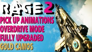 RAGE 2 - ALL WEAPONS + PICK UP ANIMATIONS  + UPGRADED VARIANTS