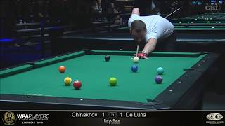 Ruslan Chinahov vs Jeffrey De Luna: 2019 WPA Players Championship