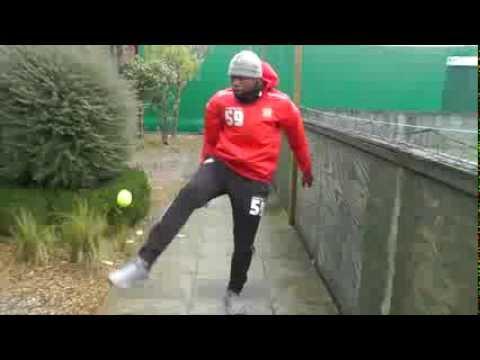 Chuks Aneke - Tennis Ball Challenge