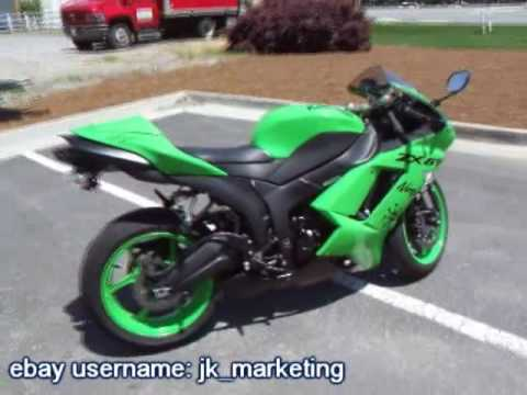 2008 kawasaki ninja 600 zx 6r for sale youtube. Black Bedroom Furniture Sets. Home Design Ideas