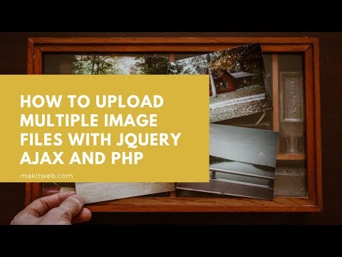 How to upload Multiple Image files with jQuery AJAX and PHP thumbnail
