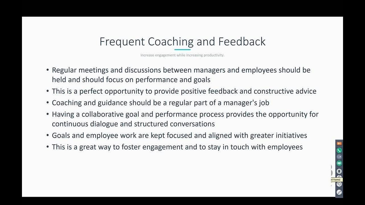Part Two: Improve Employee Engagement By Rethinking Goal Setting And Performance  Review Process