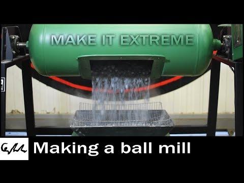 Making a Ball Mill