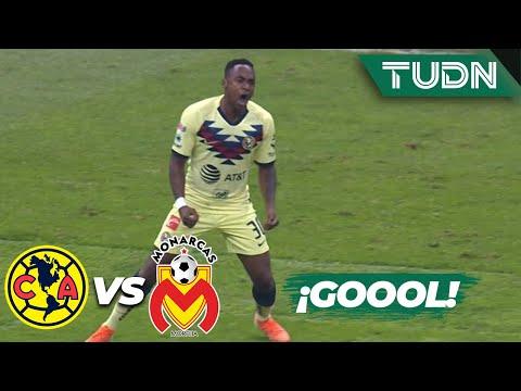 ¡Goool de América! Gran disparo de Ibarra | América 1 - 0 Morelia | Liga Mx - AP19  Semifinal | TUDN