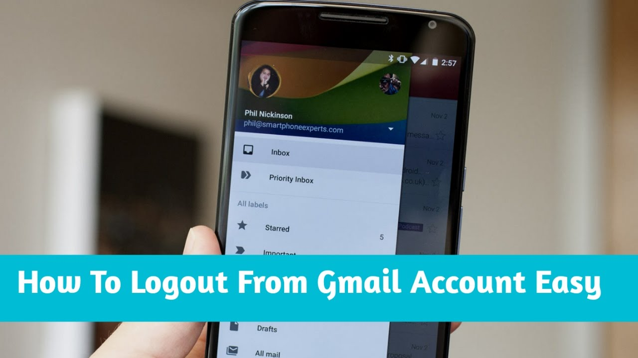 Best themes for gmail account - How To Signout From Gmail Account In Android Device Urdu Hindi Hd Videos 2017
