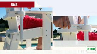 Everondack® Proseries™ Tall Lifeguard Chair (side Step) - Tlg 650