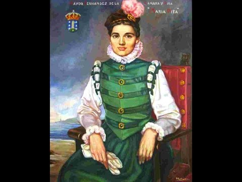 MARÍA PITA, LA HEROÍNA GALLEGA (Año 1589) Pasajes de la historia (La rosa de los vientos)