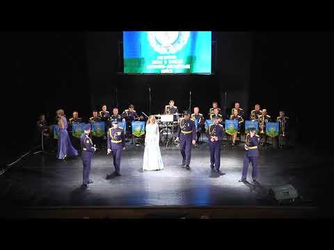 Конкурсное выступление ансамбля песни и пляски Воздушно-десантых войск России
