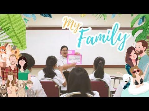 สอบสอนภาษาอังกฤษ เรื่อง This is my family ป.2