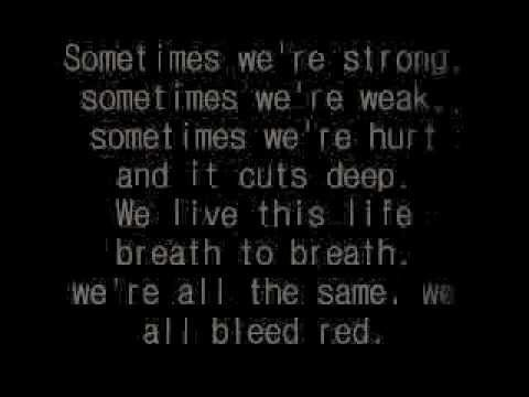 Bleed red by Ronnie Dunn lyrics