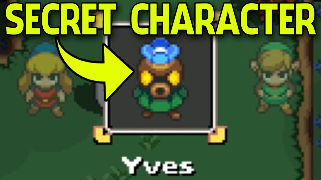 All Deku Seeds Secret Character Where To Find Them In Cadence Of Hyrule Youtube