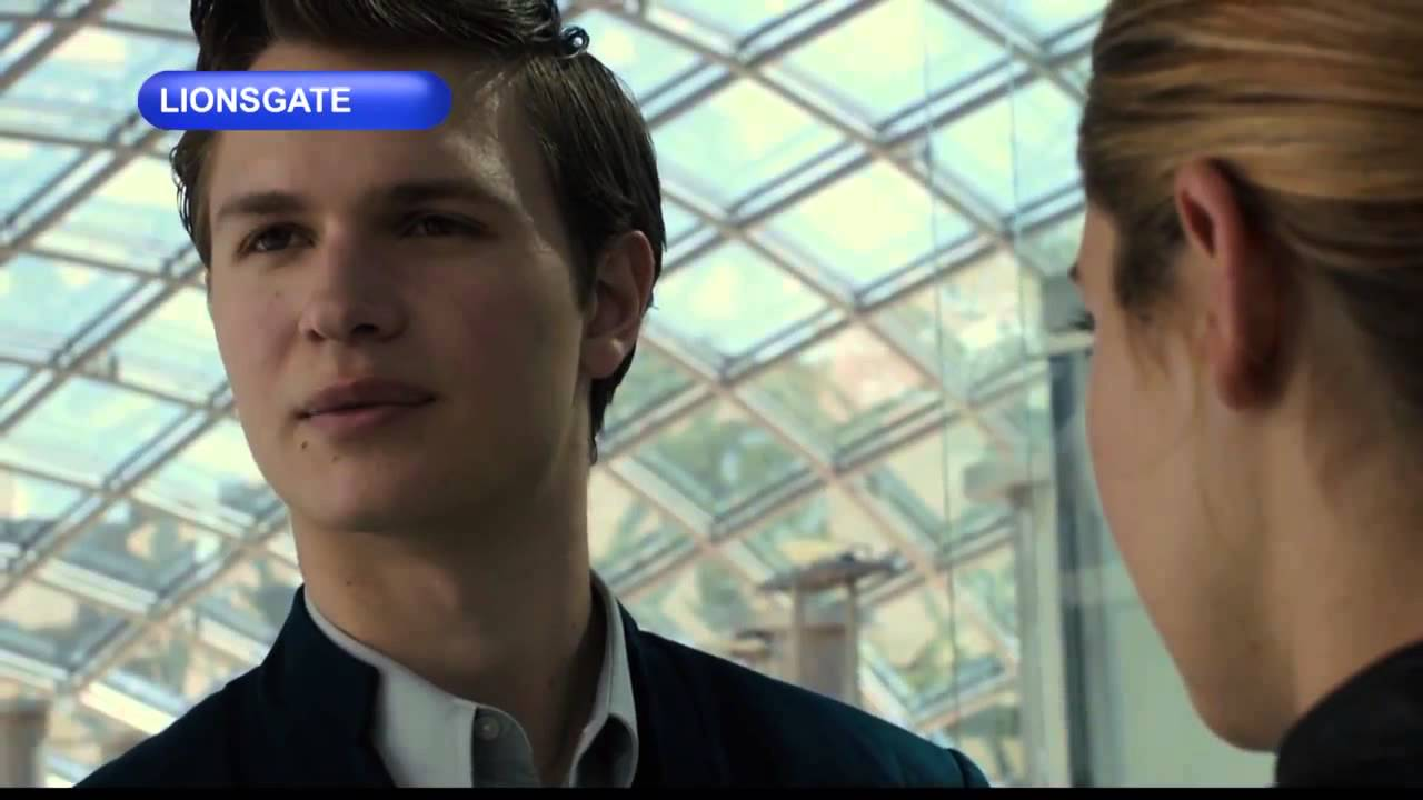 Divergent Clip-Caleb and Tris - YouTube