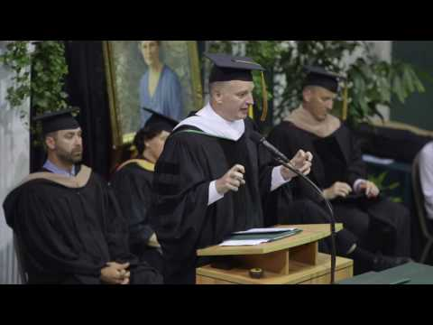 The 2016 Commencement Address