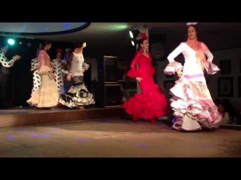 Caroly Moda Flamenca - Desfile colección 2014