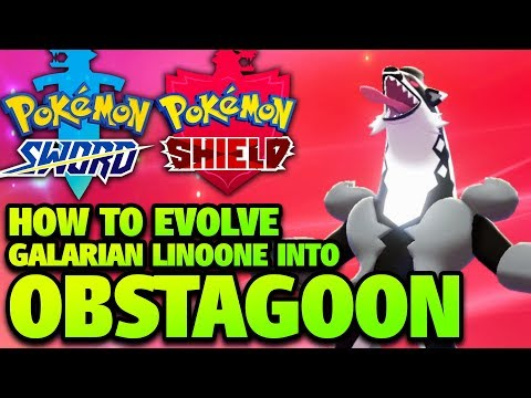 How To Evolve Linoone Into Obstagoon In Pokémon Sword And Shield