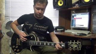 Apocalyptica Not Strong Enough Guitar Cover With Improvisation Solo