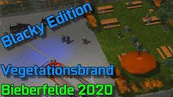 🚒Großer Vegetationsbrand an der Brauerei🚒//2020 Blacky Edition//60fps