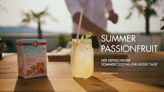 Summer Passionfruit mit TEEKANNE Cool Sensations Pfirsich Maracuja