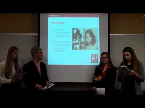 Park Scholarships Class of 2020 Semifinalist Information Session