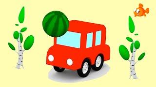 Cartoon Cars - EXPLODING MELONS! - Kids Cartoons - Cartoons for Kids - Video for kids