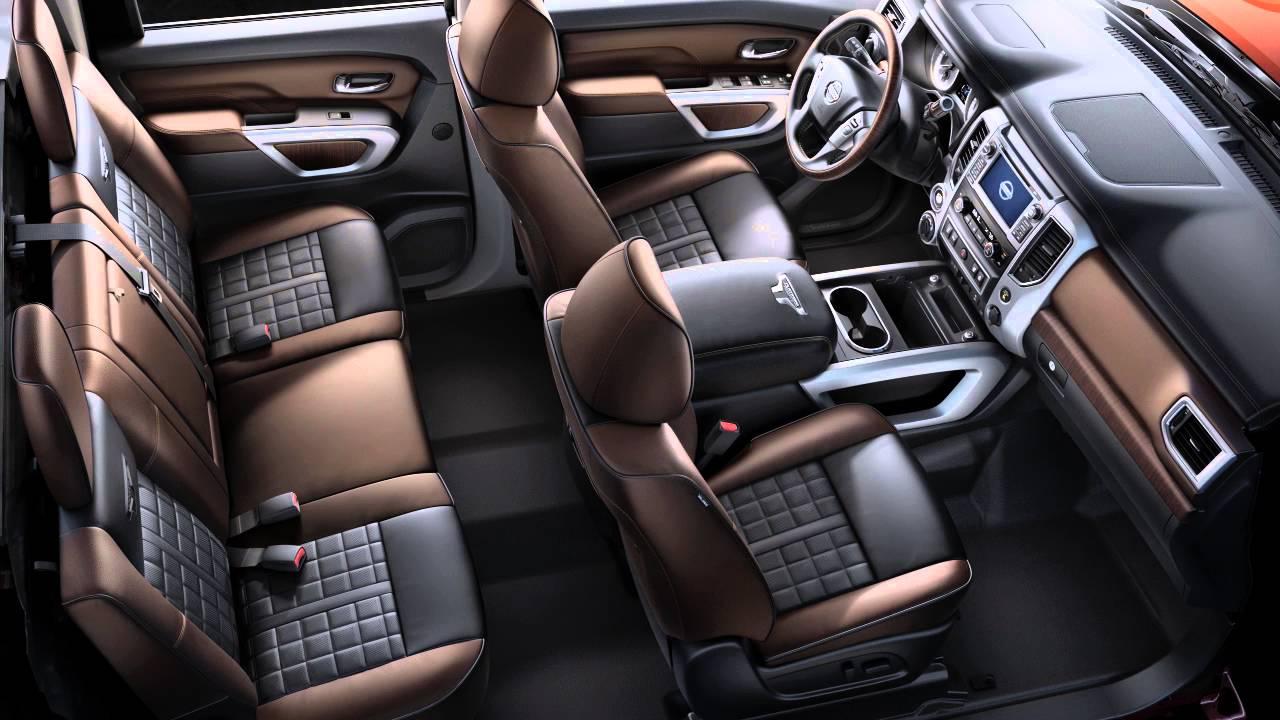 2016 nissan titan interior storage youtube vanachro Choice Image