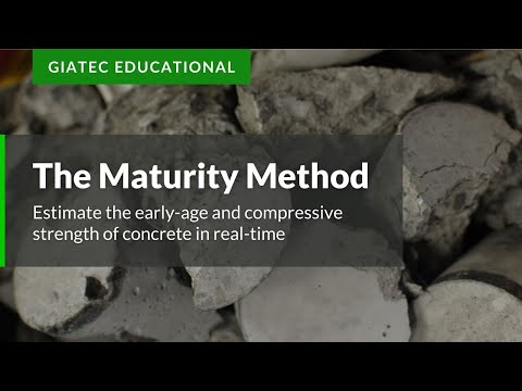 Real-Time Concrete Strength Monitoring - Maturity Method