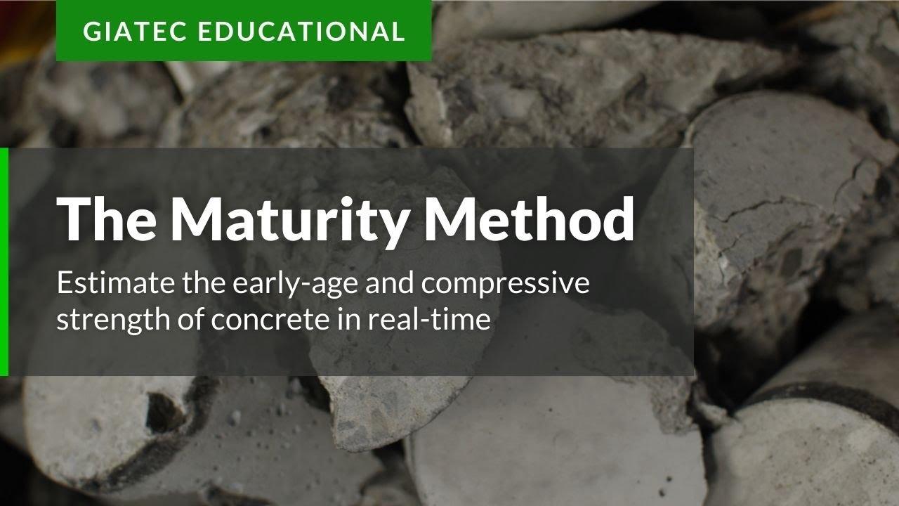 Maturity Method - A Guide to Concrete Strength | Giatec Scientific Inc