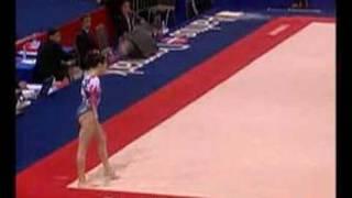 Vanessa Ferrari 2006 Worlds Floor Event Finals