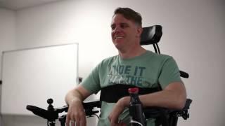 Shane Clifton Permobil F5 user