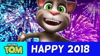 Happy 2018 from Talking Tom thumbnail
