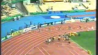 Rekord Polski Marcin Urbaś 200 m Sewilla 1999 - 19.98