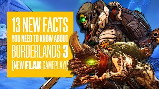 Borderlands 3 Flak Gameplay - 13 NEW Things We Found Out! BORDERLANDS 3 CHARACTERS