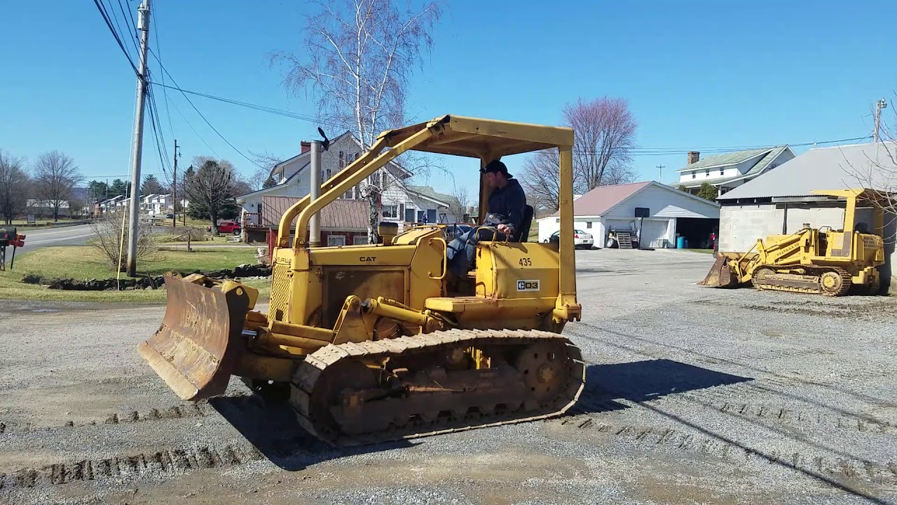 1977 Caterpillar D3 Bulldozer Crawler Tractor For Sale Running & Operating  Video!
