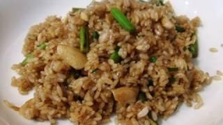 Garlic Fried Rice Recipe  ガーリックライスのレシピ・作り方