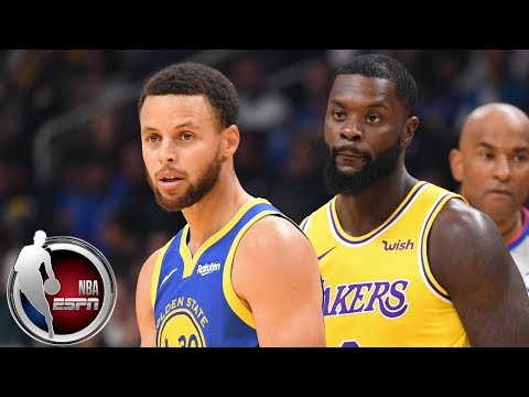 Steph Curry scores 16 1st quarter points, Lakers take over in 2nd half | NBA Preseason Highlights