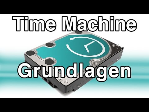 Time Machine Backup Grundlagen -  Mac Tutorial Deutsch
