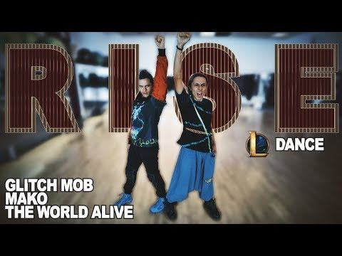 RISE (ft. The Glitch Mob, Mako, and The Word Alive) Dance - Patman Crew Choreography