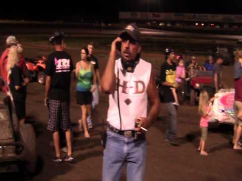 Fan Appreciation Night at Lady Luck Speedway 8-3-12