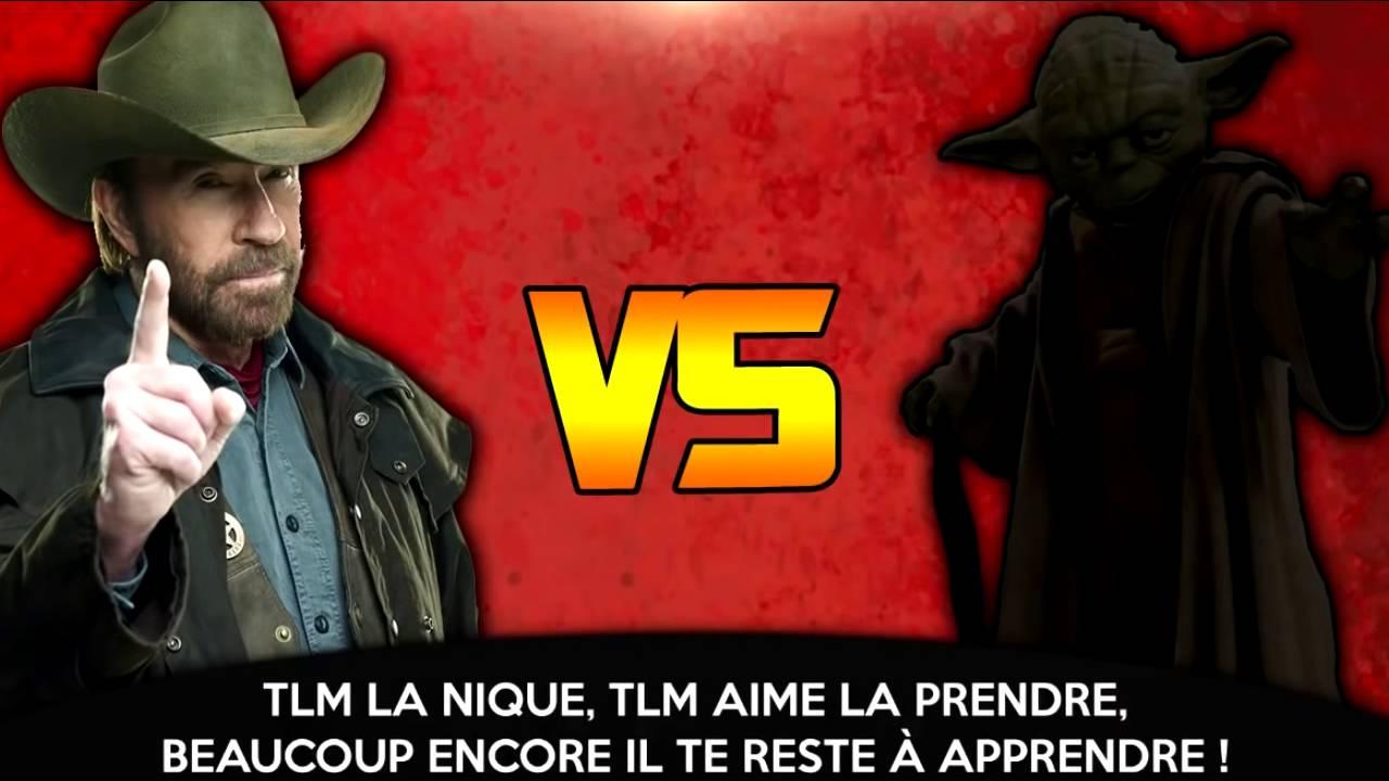 Download RAP BATTLE    Chuck Norris VS Maitre Yoda