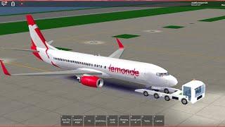 [Roblox] Le Monde Airlines (B 737)