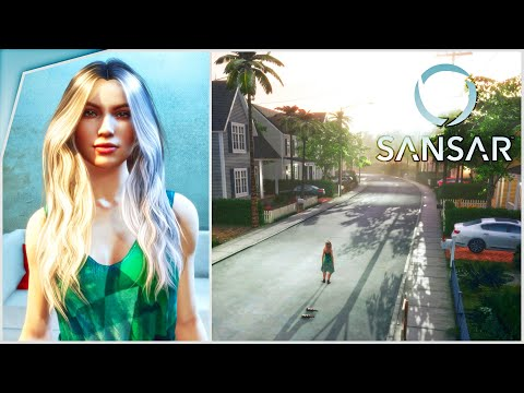 SIMS ONLINE? Exploring Sansar | Virtual World/Avatar/VR