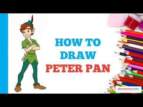 how-to-draw-peter-pan-in-a-few-easy-steps:-drawing-tutorial-for-kids-and-beginners