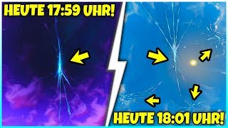 You don't believe what happened at 6:01 p.m. in Fortnite!